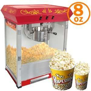 8oz Pop corn machine